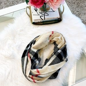 Accessories - Burberry Knockoff Circle Scarf